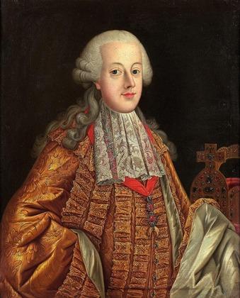 """Фото. Неизв. автор мастерской Мартина ван Мейтенса  (1695–1770) """"Портрет императора Иосифа II, XVIII в"""