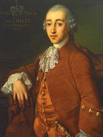 """Фото. Неизв. художник """"Портрет Франца Иосифа фон Липперта, geb. 1747 г. в Вертингене"""", сер. XVIII в."""
