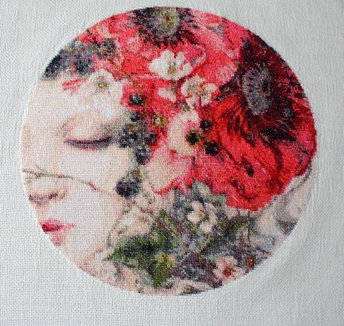 """Фото. Китайская версия картины """"Она спит"""".  Автор работы - tashanatali"""