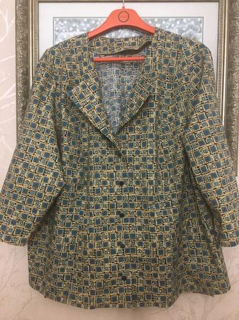 Фото. Жакето-блуза для мамы. Автор работы - vulfonson