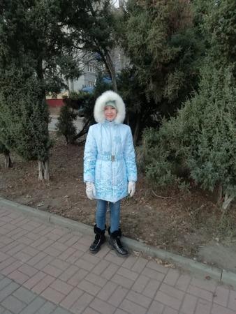 """Фото. Пальто """"Метелица"""" со снежинками.  Автор работы - catMishel"""