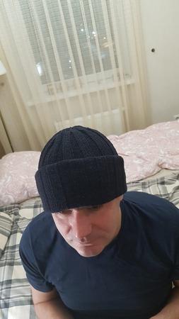 Фото. Мужская шапка. Автор работы - n_osinceva
