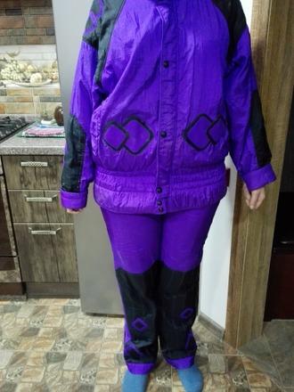 Фото. Переделка - костюм из лыжного комбеза.  Автор работы - Bennu