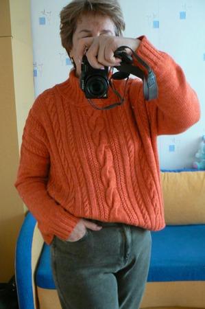 Фото. Свободный свитер.  Автор работы - Natal ka