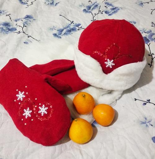 Фото. Аксессуары к костюму Деда Мороза.  Автор работы - Муми