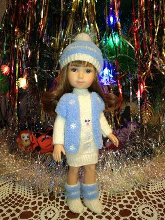 Фото. Наряд Снегурки для куклы. Автор работы - Tatyanochka1976