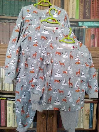 Фото. Пижамки внучатам.  Автор работы - Olga-Sh