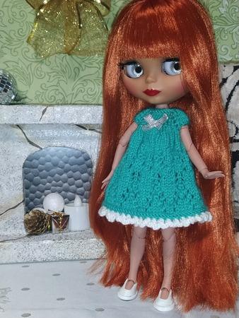 Фото. Платье для куклы.  Автор работы - Tawa_Saenko