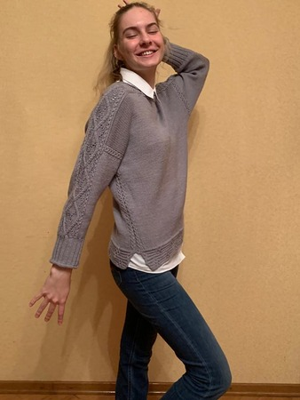 Фото. Пуловер Machi by rie vive. Автор работы - Tata_E