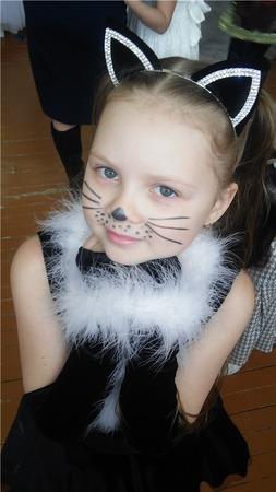 Фото. Костюм Кошки - для девочек постарше.  Автор работы - s-masha