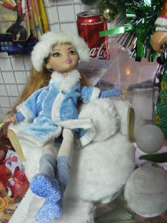 Фото. Кукла Monster High - Снегурочка.  Автор работы - gerr_ti