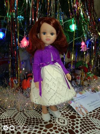 Фото. Платье для куклы. Автор работы - Tatyanochka1976