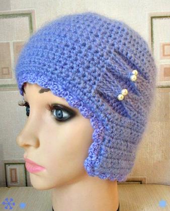 Фото. Двойная шапочка.   Автор работы - valesta444