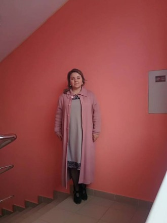 Фото. Пальто вязаное в классическом стиле.  Автор работы - Stavros2011