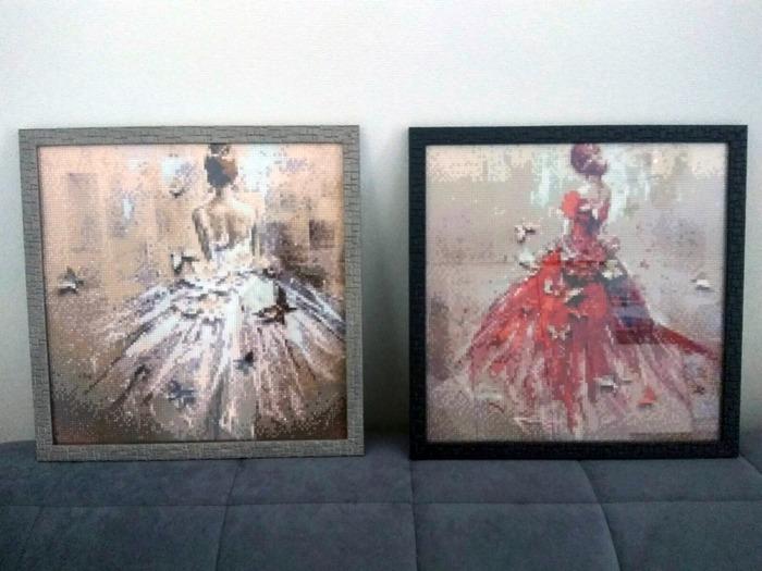 Фото. Картины в технике алмазная вышивка. Автор работы - Травка
