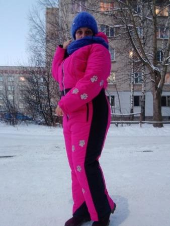 Фото. Зимний комбез. Автор работы - ma-nun-ka