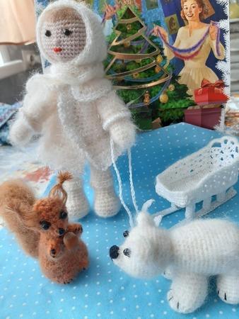 Фото. Вязаные игрушки. Автор работы - Puschinka -2007