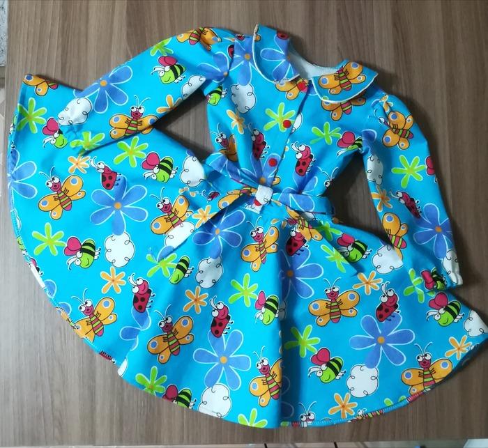 Фото. Домашнее платье из фланели.   Автор работы - lana29.09