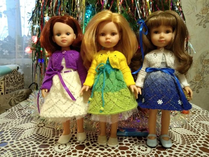 Фото. Платья для кукол.   Автор работы - Tatyanochka1976
