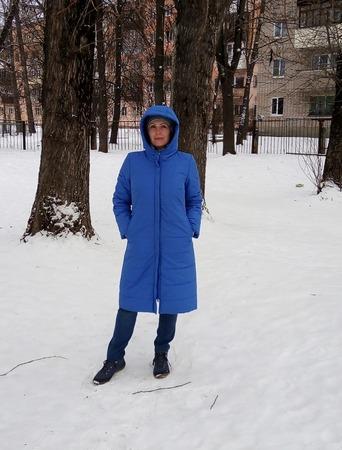 Фото. Пальто из журнала Burda. Автор работы - Водный мир