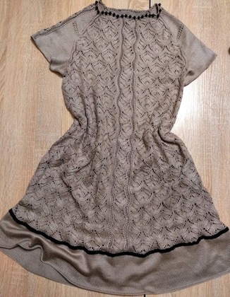 Фото. Платье из Alize Diva silky effect.   Автор работы - Пупининья
