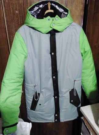 Фото. Зимняя куртка.   Автор работы - reyenira