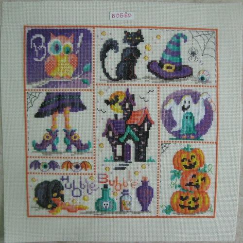 Фото. Halloween sampler.  Автор работы - Alice_in_Wonderland