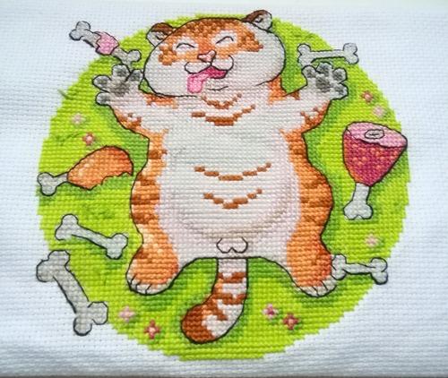 """Фото. """"Тигр обжорка"""".  Автор работы - Пиня"""