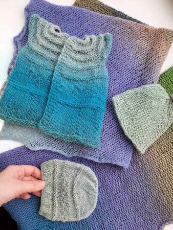 Фото. Вещи для недоношенных детишек.  Автор работы - Katlin