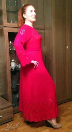 """Фото. Платье """"Красные бутоны"""".  Автор работы - Lavelli"""
