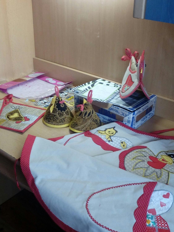 2. В свою очередь Инга РыбКа65 проделала колоссальную работу и подготовила шикарный швейный (и не только) подарок для Лилии Livla .