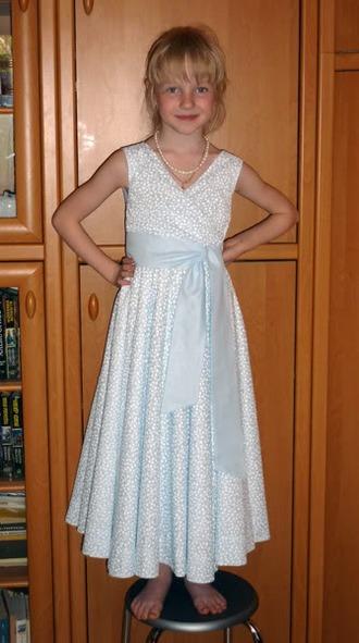 Фото. Платье из муслина для выпускного. Автор работы - Sham-Ma .