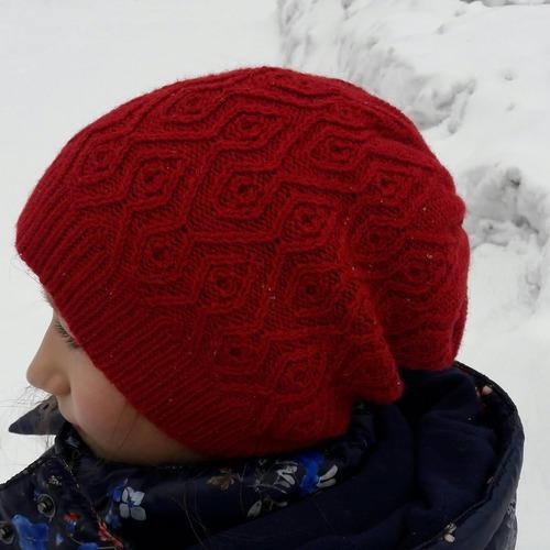 Фото. Новая шапочка этого сезона.  Автор работы - Atalya