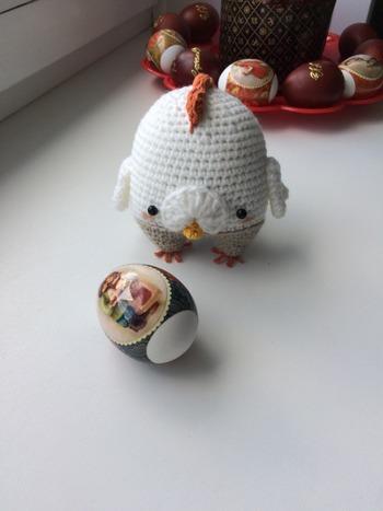 Фото. Украшалочки для яиц. Автор работы - Lesy
