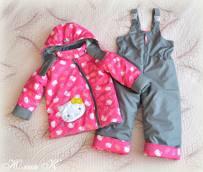 Фото. Новая куртка в демисезонный комплект для дочки. Автор работы - я Валерьевна