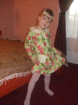 Фото. Платье из американской фланели. Автор работы - Smily
