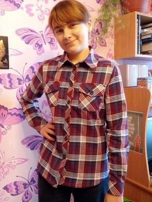 Фото. Рубашка из фуле для дочери. Автор работы - ирина62