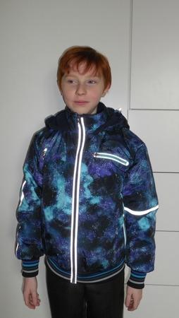 Фото. Куртка (плащевка Принц, альполюкс 100). Автор работы - Оксана Б.