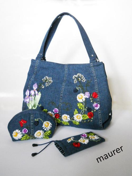 Фото. и джинсовая сумка. Автор работы - maurer