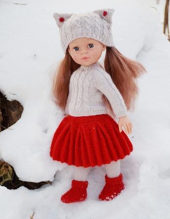 Фото. Наряд для куклы  по МК Юлии Казаковой.  Автор работы - yatsek