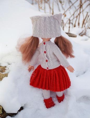 Фото. Жакет, кото-шапка, колготки, юбочка.  Автор работы - yatsek