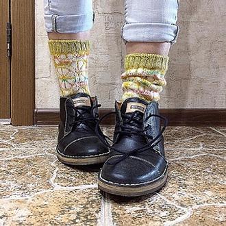 Фото. Очаровательные Citrus Socks. Автор работы - vikkyzm