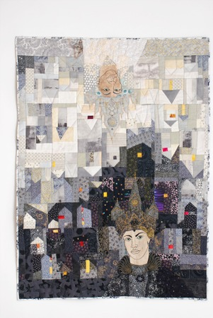 """Фото. Панно """"Город, время двух королев"""", для конкурса на квилфест 2017.. Автор работы - Маруся 61"""