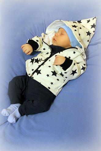 """Фото. Комплект """"Маленький звездочёт"""". Кофточка с капюшоном особенно носибельная!  Автор работы - cvetok1977"""