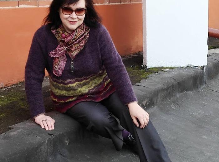 """Фото. Пуловер из мелкосекционного мохера """"for Missoni"""". Автор работы - Hozjaika"""