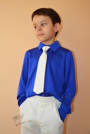 Фото. Наряд сыну на выпускной в детском саду. Рубашка. Шелк Гальяно...  Автор работы - Веревочк@