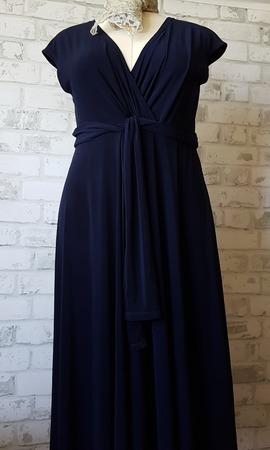 Фото. Платье из мокрой вискозы. Автор работы - Лоскутик