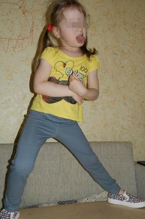 Фото. Трикотажные штанишки для крошки. Автор работы - AYouchka