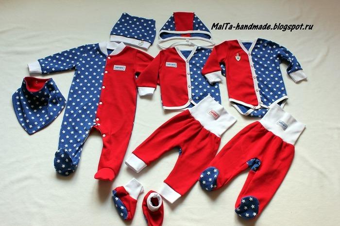 """Фото. Одежда для новорожденного """"Формула-1"""". Автор работы - MalTa"""