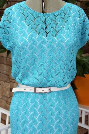 Фото. Ажурное платье. Автор работы - ELENA23